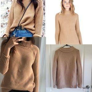 Zara Camel Knit Sweater